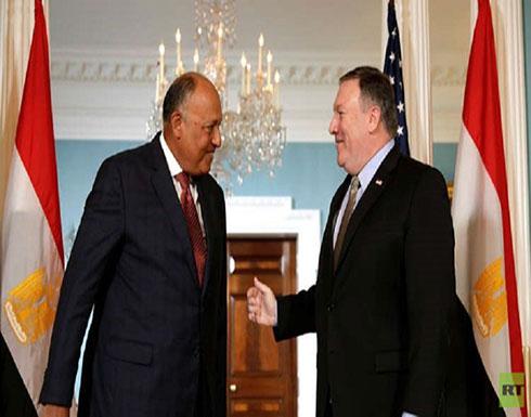 الخارجية الأمريكية: مايك بومبيو وسامح شكري يؤكدان على أهمية تحقيق حل سياسي في ليبيا