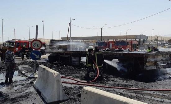"""بالصور : قوات فلسطينية تشارك في """"عملية إنقاذ"""" بالأردن"""
