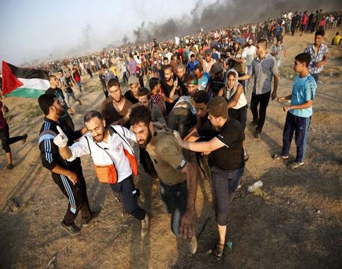 """5 شهداء وعشرات الإصابات بغزة في جمعة """"غزة صامدة ولاتركع"""" (شاهد)"""