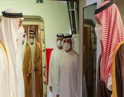 الأمير محمد بن سلمان يستقبل الشيخ محمد بن زايد بالرياض
