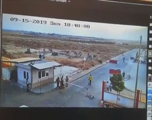 شاهد لحظة انفجار سيارة مفخخة في بلدة الراعي بسوريا