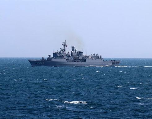 تركيا تكشف عن مناورات بحرية وسط توتر بالمتوسط .. بالفيديو