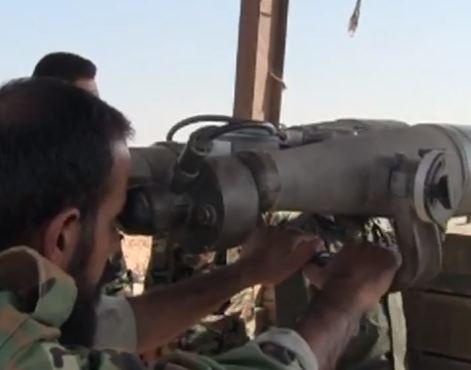 شاهد .. تعزيزات عسكرية للنظام السوري الى دير الزور