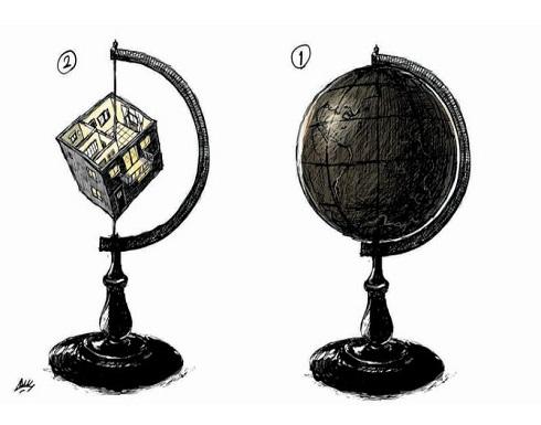 العالم بعد الحجر المنزلي