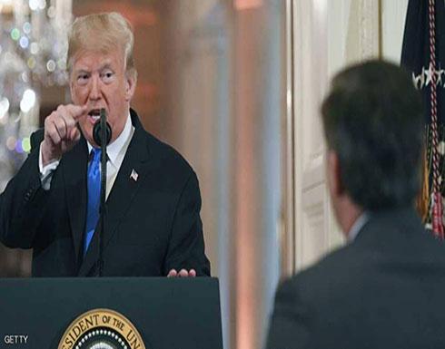 بالفيديو.. ترامب يثور غضبا خلال مؤتمر صحفي