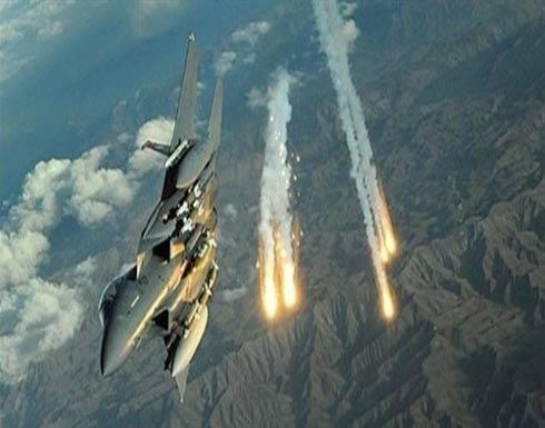 التحالف العربي يقصف تحركات عسكرية للانقلابيين في تعز