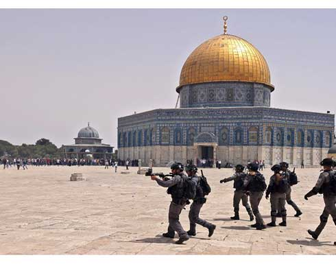 """""""الخارجية الفلسطينية"""" تدين استمرار الاحتلال باقتحام المسجد الأقصى"""