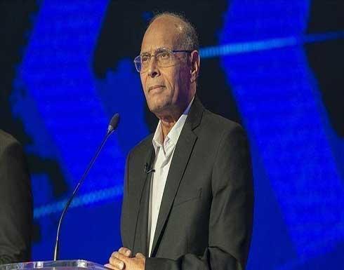 """المرزوقي يدعو التونسيين للتظاهر """"بكثافة"""" ضد قرارات سعيد الأحد"""