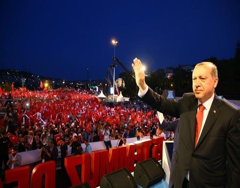 أردوغان: قدمنا ليلة الانقلاب 250 شهيدًا وكسبنا مستقبل البلاد