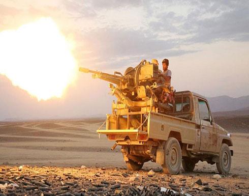 شاهد : قوات الجيش اليمني تخوض معارك ضد المليشيات الإنقلابية في الجوف