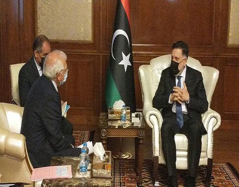 بوريل يلتقي السراج بطرابلس: ليبيا على رأس أولويات أوروبا