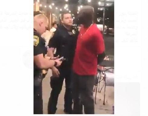 شاهد : اعتقلوه لسواد بشرته وفوجئوا بانه من fbi