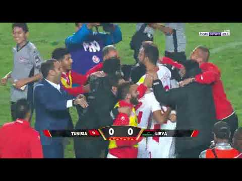 بالفيديو: تونس تلحق بالثلاثي العربي إلى مونديال روسيا