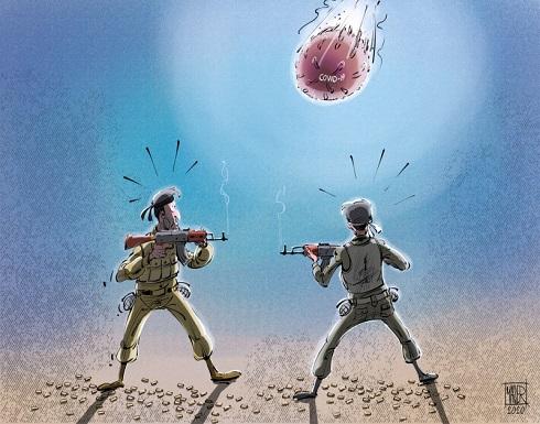 كورونا وصراعات المنطقة