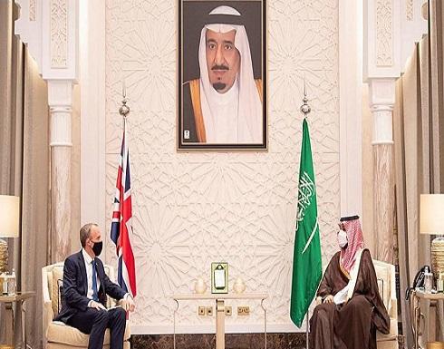محمد بن سلمان يبحث مع وزير خارجية بريطانيا تطورات المنطقة