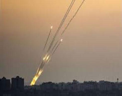 صاروخ تجاه مستوطنات غلاف غزة وصافرات الإنذار تنطلق