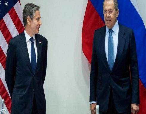 بلينكن و لافروف بحثا العودة الفورية للامتثال المتبادل بالاتفاق النووي