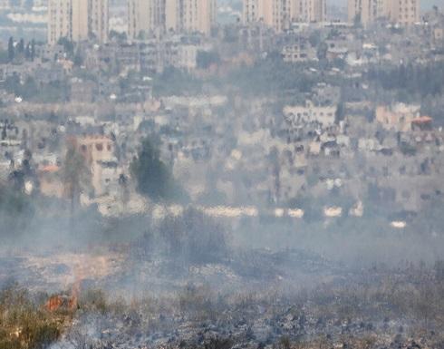 انفجارات في غلاف غزة بسبب بالونات حارقة
