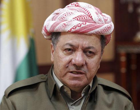 مسعود بارزاني في بغداد بعد قطيعة الاستفتاء