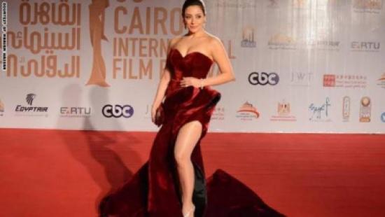 الممثلة اللبنانية مريم حسن: لم أتوقع ما حدث في مهرجان القاهرة بسبب فستاني