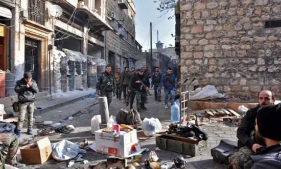 روسيا: الحكومة السورية تسيطر على 93 بالمئة من حلب