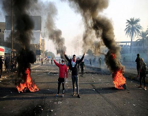 بالفيديو : مقتل أربعة محتجين وشرطيين في استمرار الاحتجاجات ضد الحكومة بالعراق
