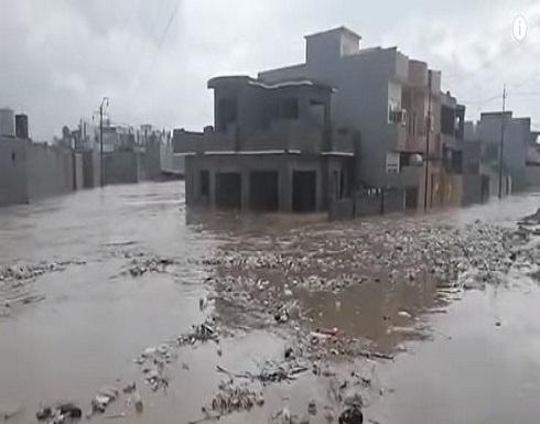 شاهد : الفيضانات تجتاح 3 محافظات عراقية