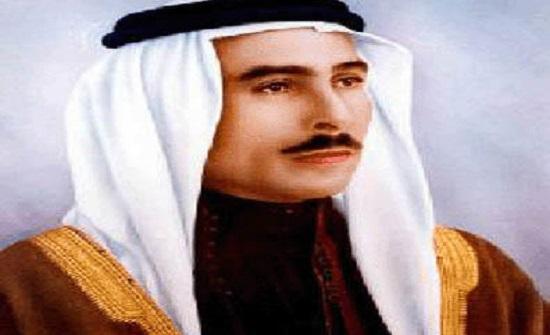 الذكرى التاسعة والأربعون لوفاة الملك طلال بن عبدالله غداً
