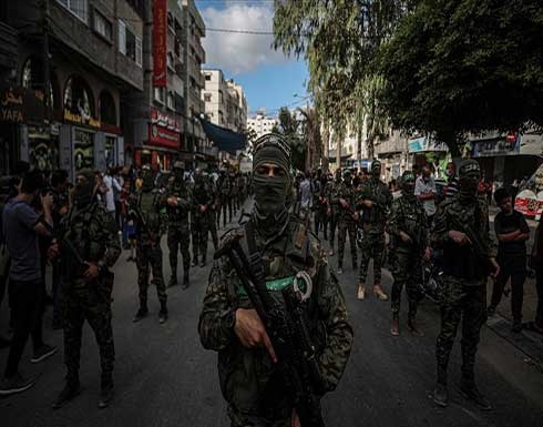 """أول عرض عسكري لكتائب """"القسام"""" عقب العدوان الإسرائيلي على غزة .. شاهد"""