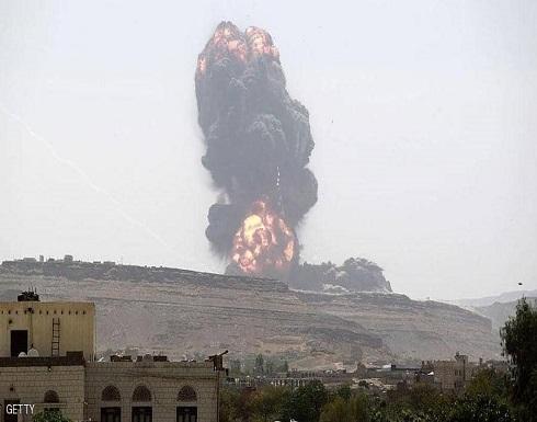 التحالف يستهدف مواقع عسكرية للمتمردين في صنعاء