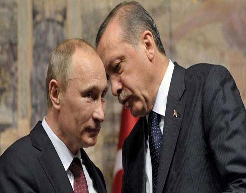 أردوغان يدعو بوتين لإيقاف هجمات النظام السوري على إدلب والغوطة الشرقية