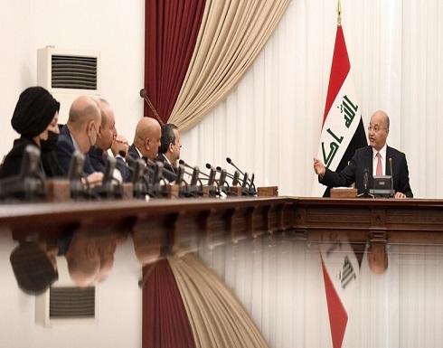 الرئيس العراقي: تبعات وتأثيرات الانتخابات المقبلة ستكون على كل المنطقة