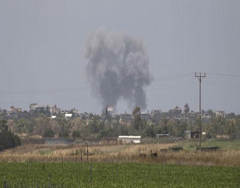 """غارة """"إسرائيلية"""" تستهدف مرصدًا للمقاومة جنوب القطاع"""