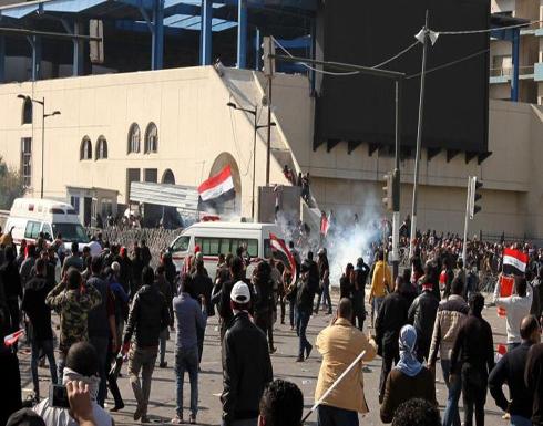 اتهام بغداد بالإفراط بمواجهة المحتجين