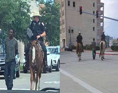 صورة لشرطة تكساس تثير غضبا في الولايات المتحدة