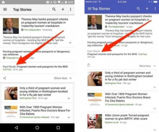 """""""اقرأني لتعرف الحقيقة"""".. جوجل تطرح خاصية جديدة لمعرفة الأخبار الحقيقية من الكاذبة"""