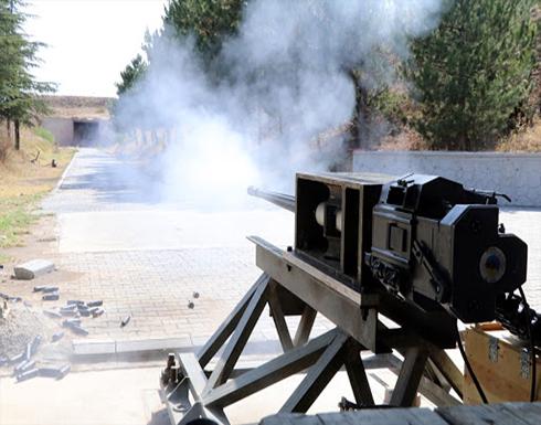 شاهد : الجيش التركي يستعرض قدرات مدفع جديد مضاد للطائرات
