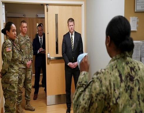 البنتاغون يؤكد إصابة 174 جنديا أمريكيا بفيروس كورونا