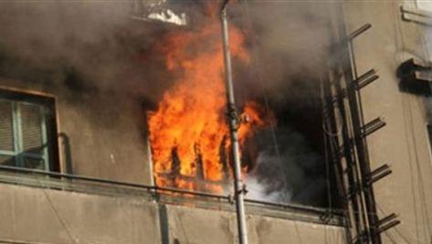 5 إصابات بحريق مدفأة في صويلح
