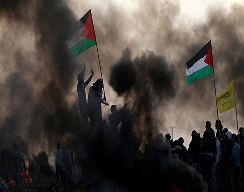 الهلال الأحمر الفلسطيني: إصابة 25 فلسطينيا بالرصاص الحي بمواجهات مع القوات الإسرائيلية في قطاع غزة
