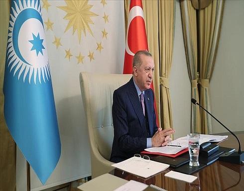 """أردوغان: حان الوقت لإطلاق صفة منظمة دولية على """"المجلس التركي"""""""
