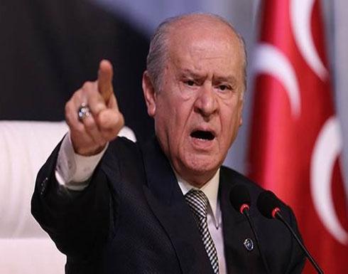 """بهتشلي لـ""""بولتون"""": تركيا لا تعود لك ولأسيادك في ما ستفعل"""