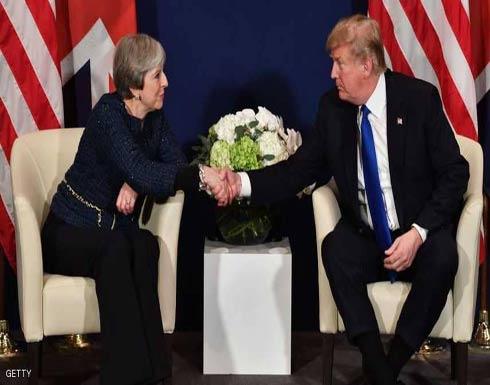 """ماي وترامب يتفقان على """"ردع"""" الأسد"""