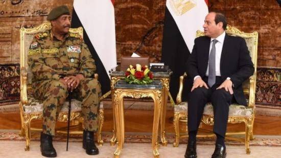 السيسي على رأس وفد رفيع يزور الخرطوم للقاء الفريق البرهان