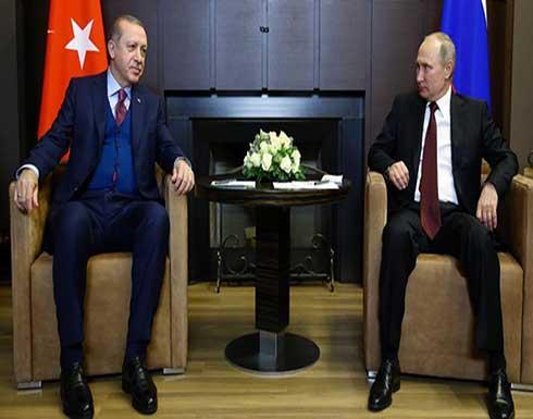 أردوغان: تعاون تركيا وروسيا يزيد من مستوى أمنهما مستقبلًا