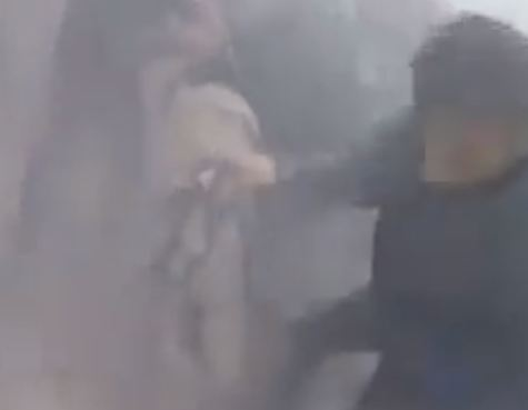 شاهد .. قصف النظام السوري على المدنيين في الغوطة الشرقية