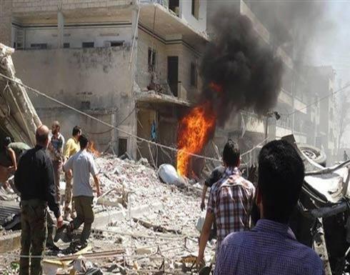 النظام يشنّ 65 غارة على ريفي حمص وحماة