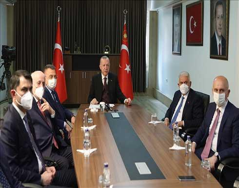 أردوغان: الجيش التركي أثبت جدارته شرق المتوسط وفي مكافحة الإرهاب