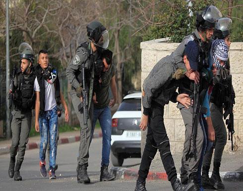 إسرائيل تعتقل 20 فلسطينيا في الضفة الغربية