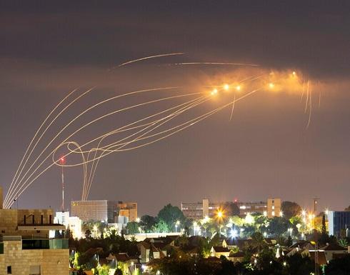 القبة الحديدية الإسرائيلية تعترض صاروخا على الأقل أطلق من غزة على عسقلان